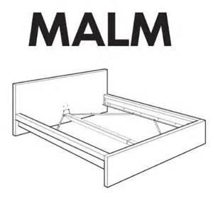 ikea malm bedframe replacement parts 29 00 748252557100 salespider