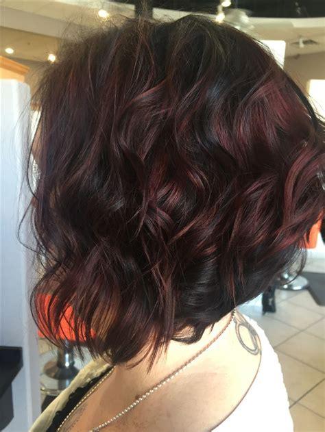 chocolate colored hair fall hair color chocolate cherry dolledupbyshelby