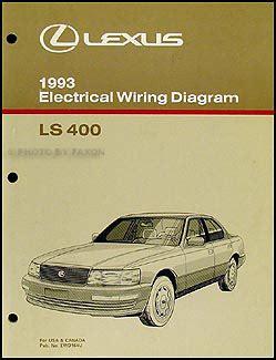online car repair manuals free 1993 lexus ls parental controls 1993 lexus ls 400 wiring diagram manual original