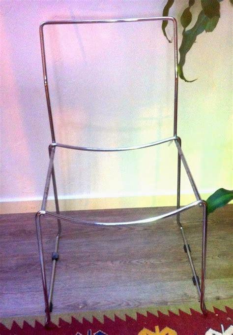 chaise en fil scoubidou mobilier scoubidou rénovation de chaise scoubidou