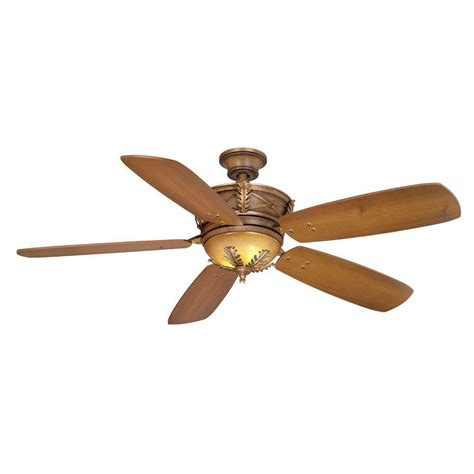 hton bay eden lake 54 in distressed walnut ceiling fan