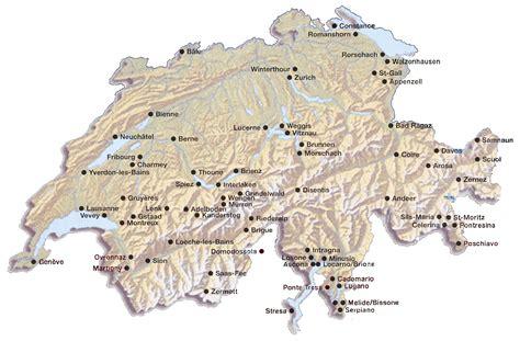 Carte Suisse by Carte Suisse Carte De La Suisse