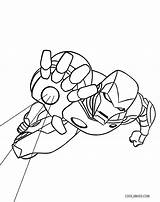 Iron Coloring Pages Flying Hulkbuster Printable Sheets Cool2bkids sketch template