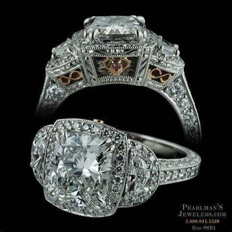 Michael Beaudry Jewelry Platinum Cushion Cut Ring. Thread Earrings. 3 Stone Diamond. Mabe Pearl Earrings. Where To Buy Bangle Bracelets. Pre Owned Diamond. Sell Beads Online. Bible Verse Wedding Rings. Sicura Watches