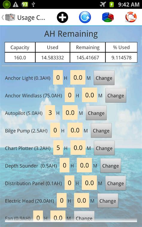 Boat Trip Calculator by Boat Battery S Calculator Android Apps On Google Play