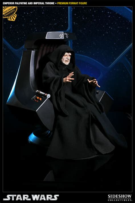 emperor palpatine and imperial throne premium format