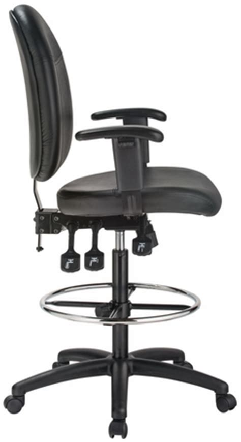 Harwick Ergonomic Drafting Chair by Harwick Ergonomic Leather Drafting Chair 35 Quot High 6058c D L