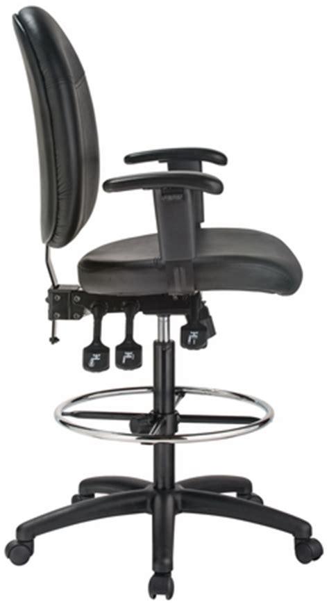 harwick ergonomic drafting chair harwick ergonomic leather drafting chair 35 quot high 6058c d l