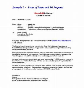 12 business letter of intent templates pdf doc free With rfp letter of intent template
