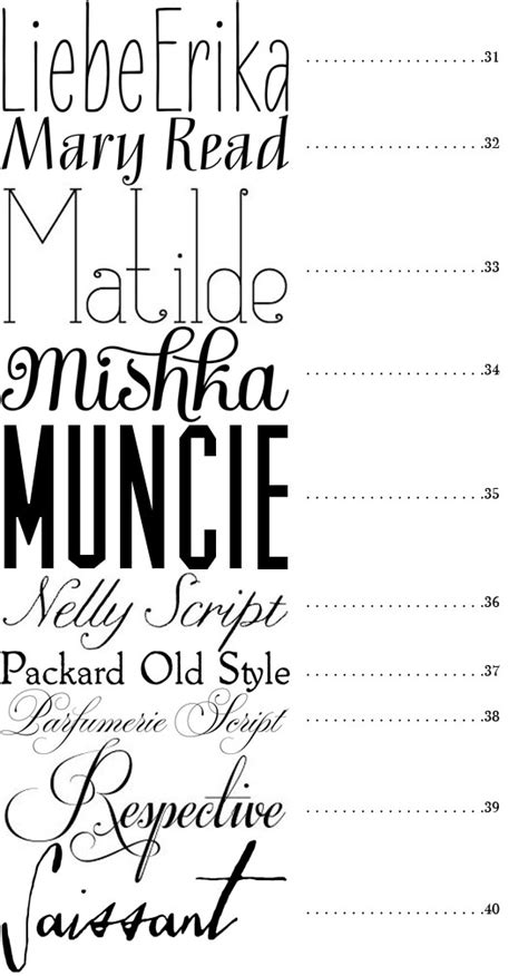 What Is The Best Type Of Font For A Resume by 50 Best Fonts Snippet Ink Wedding Snippet Ink