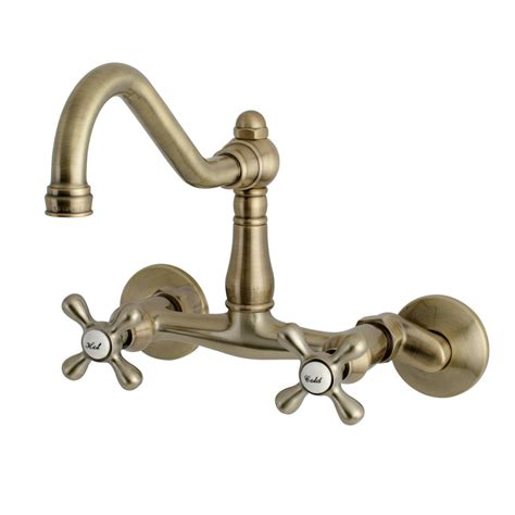 Kitchen Faucets Wall Mount by Kingston Brass Ks3223ax Vintage Wall Mount Kitchen Faucet