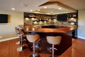 Home Bar Designs Stone Home Bar Contemporary With Bar