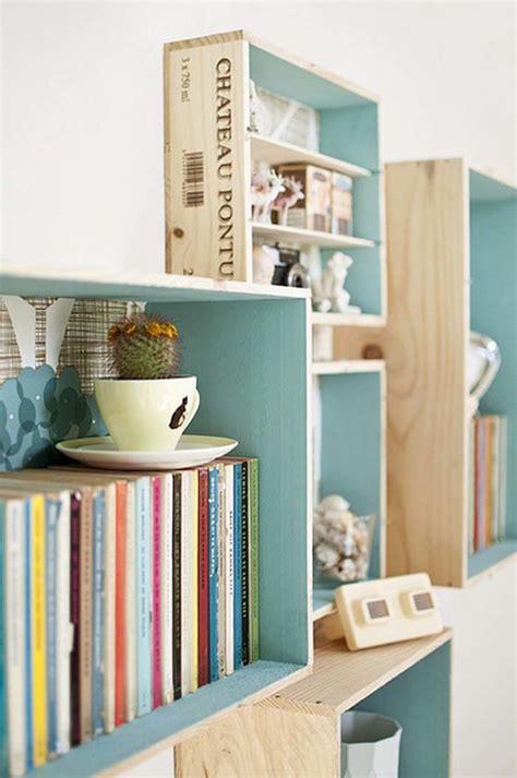 deco etagere cuisine diy recycler une caisse en bois deco en 40 idées