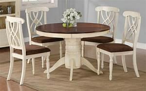 Runder Tisch Mit Stühlen : wei er tisch mit st hlen wohn design ~ Frokenaadalensverden.com Haus und Dekorationen