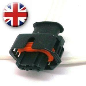 Fuel Rail Pressure Sensor Plug Vauxhall Vivaro Renault