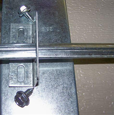 door bar lock garage door lock bar guide