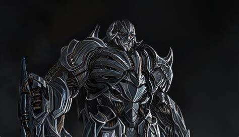 transformers  concept art reveals megatron hound