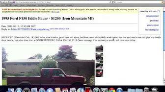 craigslist michigan  cars  sale  owner youtube