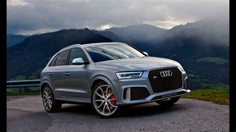 audi rsq3 2020 2017 audi rsq3 340hp in the alps launch
