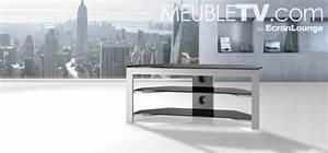 Meuble D Angle Pour Tv : meuble tv d angle en verre meuble d angle pour tv ~ Teatrodelosmanantiales.com Idées de Décoration