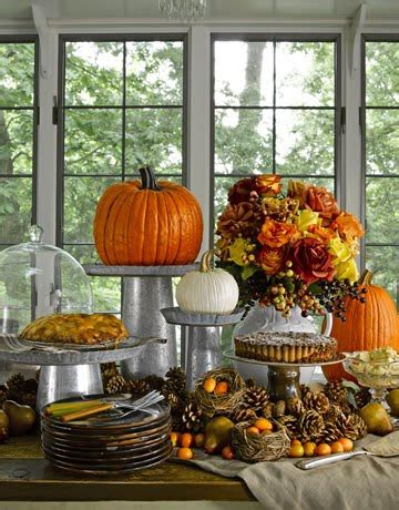 Decorate Thanksgiving Table Decorating Ideas