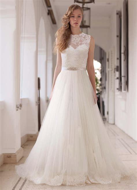 Elegant Wedding Dresses Runway Trends Modwedding