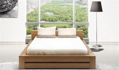 bureau haut de gamme lit bois massif contemporain noyer clair haut de gamme