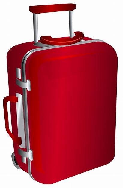 Clipart Bag Travel Trolley Luggage Suitcase Suitcases