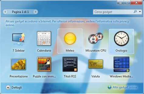 gadgets bureau windows 8 7 sidebar gadget télécharger