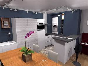 Décoration Intérieure Salon : int rieur dynamique lille mh deco ~ Teatrodelosmanantiales.com Idées de Décoration