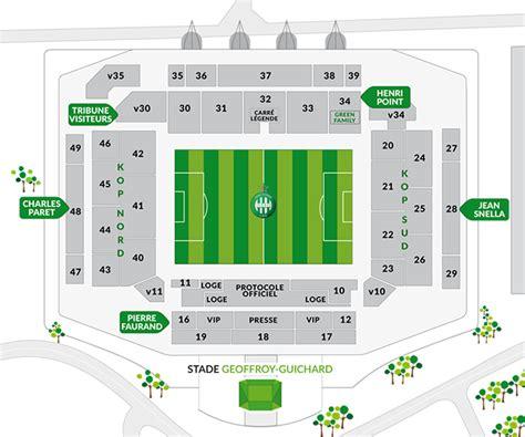 2016 tous les plans des tribunes de stades