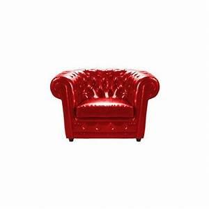 Fauteuil Cuir Rouge : large choix de fauteuil design en cuir rouge louer ~ Teatrodelosmanantiales.com Idées de Décoration