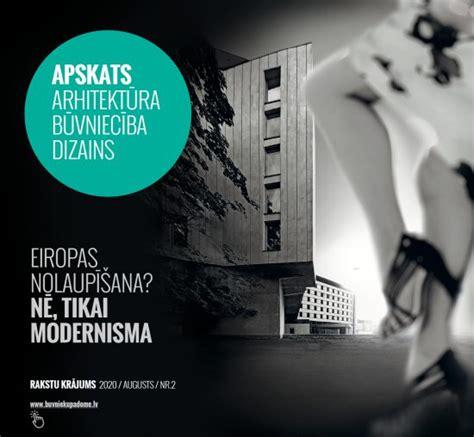 APSKATS Arhitektūra Būvniecība Dizains 2020/2 : Building Design & Construction Council