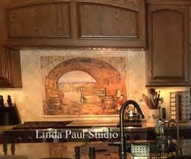 kitchen tile backsplash murals tuscan backsplash tile wall murals tiles backsplashes