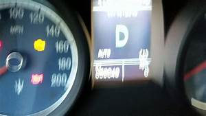 Maserati Oil Change Reset