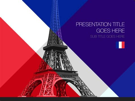 france powerpoint template designs trashedgraphics