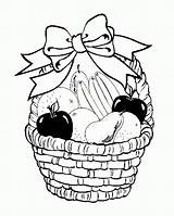 Coloring Basket Fruit Pages Fruits Drawing Printable Baskets Drawings Bowl Print Easy Sheets Popular Ribbons Children Coloringhome Comments Coloringkidz Decorate sketch template