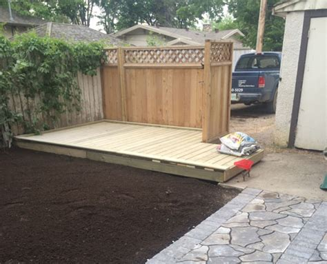 home signature landscaping saskatchewan