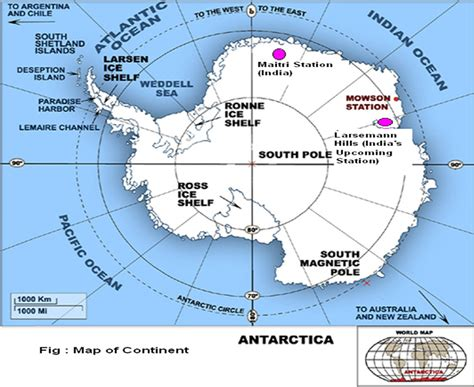 map  antarctica  location  indian stations