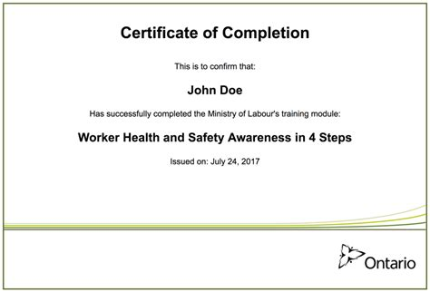 worker health  safety awareness   steps quiz