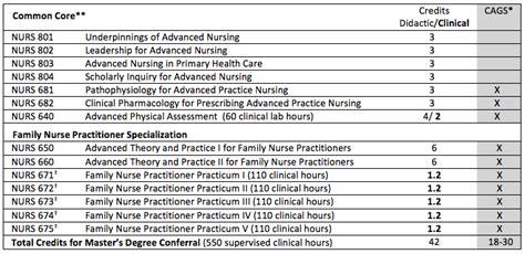 family nurse practitioner masters ms   york