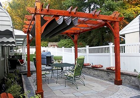 pergola with retractable canopy 10x12 covered outdoor living today