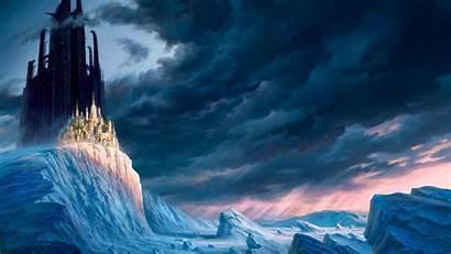 Castle Mountain Desktop Wallpapers Background Icy Dream