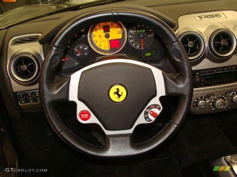 F430 Steering Wheel by 2006 F430 Spider Nero Black Steering Wheel Photo