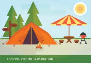 Vector Camping Clip Art