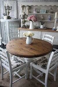 Shabby Chic Accessoires : blog ga shabby chic voor je ronde tafel zacht en romantisch ~ Markanthonyermac.com Haus und Dekorationen