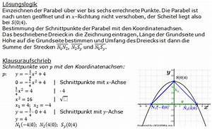 Parabel Berechnen Online : pflichtteil 2004 realschulabschluss fit in mathe ~ Themetempest.com Abrechnung