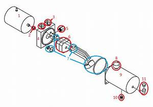 Straight Blade Rt2 Hyd01710 Motor Kit