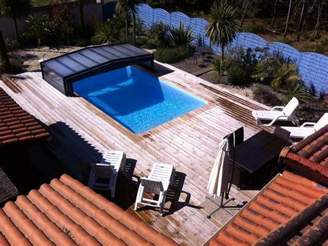 aquitaine gironde medoc soulac chalet avec piscine priv 233 e couverte chauff 233 e m 233 doc abritel