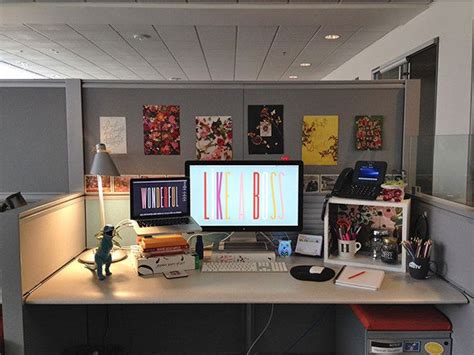 54 ways to make your cubicle suck less cubicle desktop